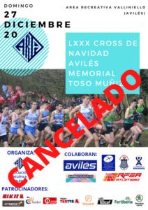 LXXX Cross de Navidad Memorial Toso MuñiZ CANCELADO