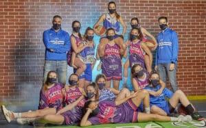 Sesión de fotos para las chicas del Alecar Skoda Atlética