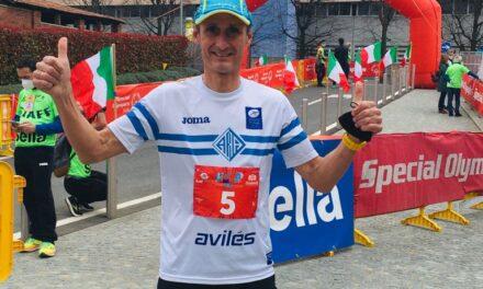 NICOLAS DE LAS HERAS SE SUPERA EN ITALIA